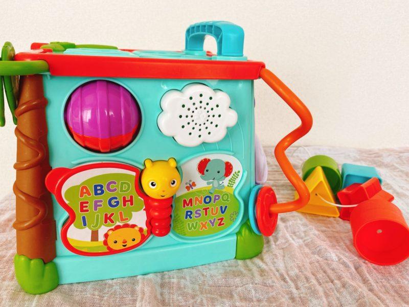 【おすすめ2選】生後5ヶ月の赤ちゃんが夢中で遊んで学べるおもちゃ