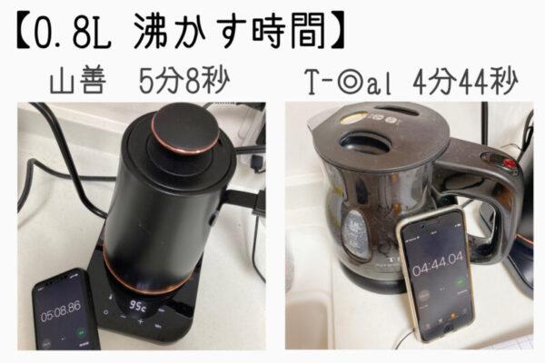 美味しいドリップコーヒーで飲みたい方に!山善 コーヒーケトル購入レビュー!
